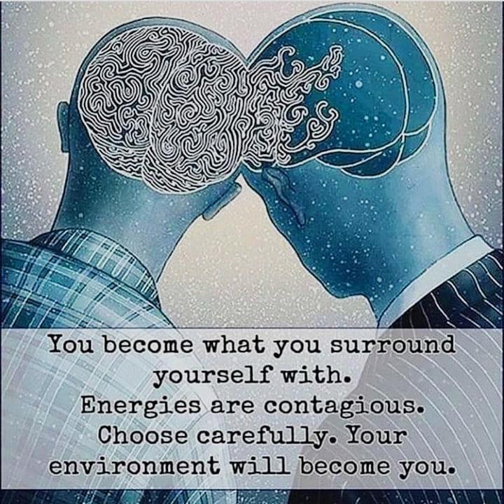 Zelo pomembno je, s kom se družimo.